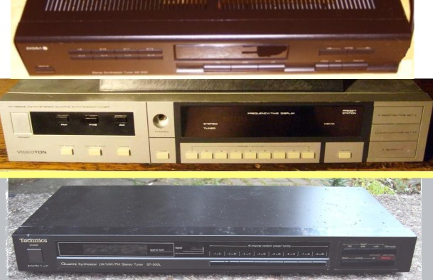 Diora AS 502, Teleton VT-7300, Technics ST-500L